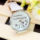 Großhandel Armbanduhren: Modische Uhr für die Ewigkeit spät