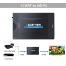 wholesale Car accessories: SCART HDMI converter adapter