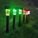 nagyker Kert és barkácsolás: Napelemes színes kerti lámpa