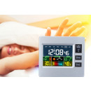 wholesale Weather Stations: Multifunction LCD display weather station and cloc