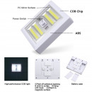 wholesale Lampes: Wireless compact wall lamp with COB LED