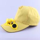 Großhandel Kopfbedeckung: Solar Solar Baseball Cap Gelb