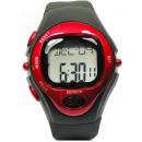 Großhandel Sport- und Fitnessgeräte: Pulsuhr Armbanduhr Sportuhr Rot