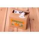 Großhandel Spardosen: Nettes Kätzchen im weißen Kasten
