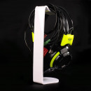 Großhandel Consumer Electronics: Premium Acryl Headset / Kopfhörerhalter Weiß