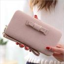 Großhandel Handtaschen: Damen Clutch Bag Hell Lila