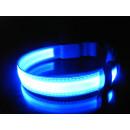 grossiste Fournitures pour animaux de compagnie: Collier de chien LED lumineux collier de chien ver