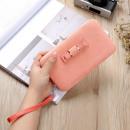 Großhandel Handtaschen: Weibliche Handtasche mit taunasser Orange