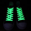 Phosphoreszierende Schnürsenkel grün