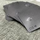 Großhandel Gesellschaftsspiele: Luxus Poker Card Pack mit Black Diamond