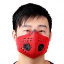 Großhandel Sportbekleidung:Trainingsmaske rot
