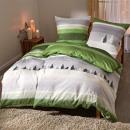 wholesale Bedlinen & Mattresses: 2-piece Renforce bed linen bed linen set, natural