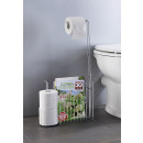wholesale Bath Furniture & Accessories: Stand WC set with toilet roll holder spare rolls