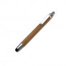 Bambusowy długopis z końcówką touchpada