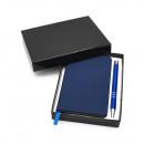 Writing set gift set including metal ballpoint pen