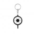 Keychain LED flashlight key light