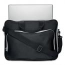 Laptop bag with removable, adjustable shoulder
