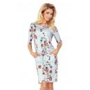 wholesale Dresses: 13-55 Sport Dress - GRAY + BROWN COLOR