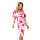 wholesale Fashion & Apparel: 138-6 Spanish Dress - PINK ROSES