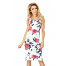 wholesale Fashion & Apparel: 53-30 Fitted Dress  - COLOR LARGE FLOWERS
