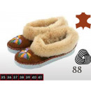 wholesale Shoes: Shoes, slippers,  ladies, leather, wool, model 88