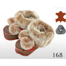wholesale Shoes: Baby shoes,  leather, wool, model 168