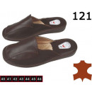 wholesale Shoes: Slippers, slippers  for men, leather, model 121