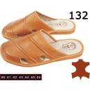 wholesale Shoes: Slippers, slippers  for men, leather, model 132