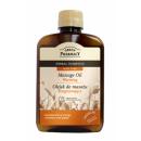 Il riscaldamento  olio da massaggio arancia, cannel