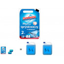 Washer fluid  tablets fleet of 120 pieces.