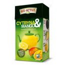 Big-Active Black  Tea with Lemon & Mango fruit