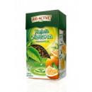 groothandel Food producten: Big-Actieve Groene thee blad met Orange