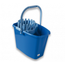 10l bucket with squeezer blue