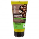 Hair balm with  macadamia oil and keratin