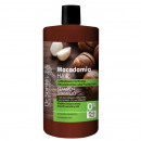 Shampoo with Macadamia oil and keratin rebuilding
