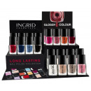 INGRID PAINT GLOSS  GEL GEL A72 + Ekspozytor