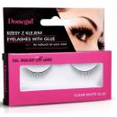 Großhandel Make-up Accessoires: 4455 falsche Wimpern mit Kleber
