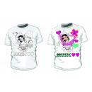 wholesale School Supplies: Disney Violetta t-shirt coloring