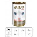 wholesale Pet supplies: KARMA cat RAFI CAT WITH SALMON 415 G