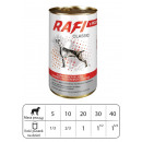 wholesale Pet supplies: KARMA dog RAFI  CLASSIC WITH BEEF 1250g
