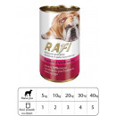 wholesale Pet supplies: KARMA dog RAFI PATE WITH BEEF 400 G