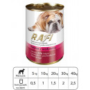 wholesale Pet supplies: KARMA dog RAFI PATE WITH BEEF 800 G