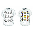 mayorista Artículos con licencia: Minions camiseta  de la manada para colorear
