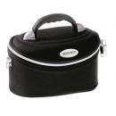 Großhandel Reiseartikel: Schwarz kleinen Koffer für Kosmetik