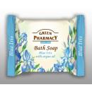 Bar savon: iris bleu et huile d'argan 100