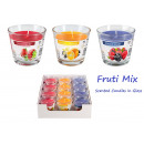 Bougies parfumées  en verre Aurelia MIX fruits