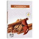 Scented candles, heaters, tealight: Cinnamon