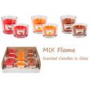 Candela profumata in vetro Fiamma MIX