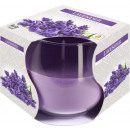 Lavender Scented candle in glass