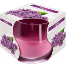 Lilac Scented candle in glass